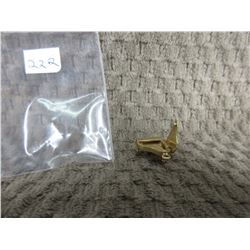 10 KT Gold Charm of Grand Piano 2.54 grams