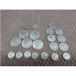 American Coins Total of $5.05