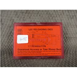 Lee 17 Remington 2 Die Set with Shell Holder Appear New