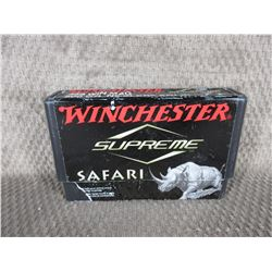 Winchester 458 Win Mag Box of 20 Shells Unopened