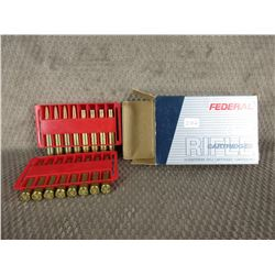 30-06 Federal - 4 Live Rounds, 12 Brass