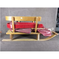 Vintage Childs Pull Sleigh
