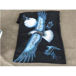 New Eagle T-Shirt Black XL Made In Canada