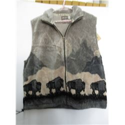 New Outback Western Fleece Vests MD Made In Canada