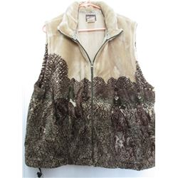 New Outback Western Fleece Vests LG Made In Canada