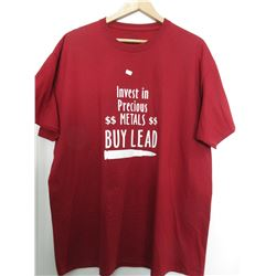 Invest In Precious Metals Buy Lead XL Red