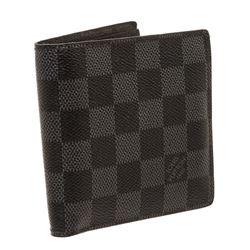 Louis Vuitton Damier Graphite Canvas Leather Marco Bifold Wallet