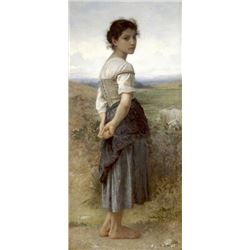 William Bouguereau - The Young Shepherdess