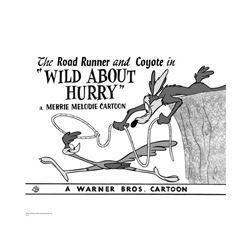 Warner Brothers Hologram Wild about Hurry
