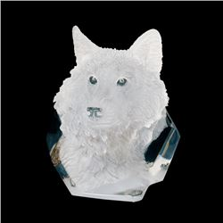 """Kitty Cantrell, """"Devotion"""" Limited Edition Mixed Media Lucite Sculpture with COA"""