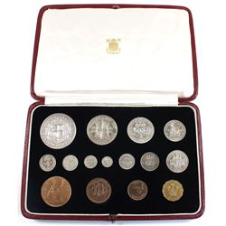 Great Britian 1937 15-coin Specimen Set commemorating King George the 6th. Coins come in Original Di