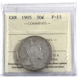 50-cent 1905 ICCS Certified F-15. *Key Date*