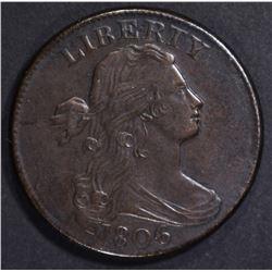 1806 LARGE CENT, CH AU