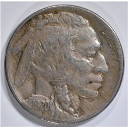 1920-S BUFFALO NICKEL, VF