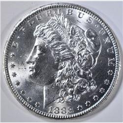 1883-CC MORGAN DOLLAR, CH/GEM BU