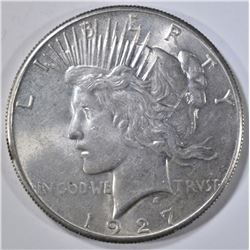 1927 PEACE DOLLAR, CH BU