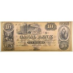 CANAL BANK $10 NOTE