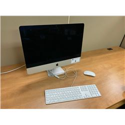 "IMAC 24"" COMPUTER WITH KEYBOARD AND WIRELESS MOUSE, HD WIPED"