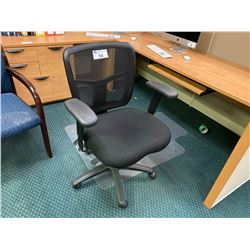 BLACK MESH BACK ERGONOMIC CHAIR