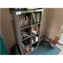 8 COMPARTMENT CUBBY SHELF