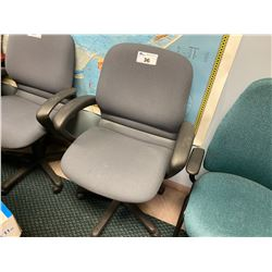 GREY MIDBACK ERGONOMIC TILTER CHAIR