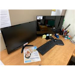 "LOT OF COMPUTER EQUIPMENT INC. ACER HDMI COMPUTER (NO HD) AND 19"" AND 27""  MONITORS"