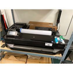 HP DESIGNJET T120 EPRINTER WIDE CARRIAGE PRINTER WITH SPARE TONER