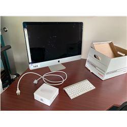 "IMAC 27"" COMPUTER WITH KEYBOARD, HD WIPED"