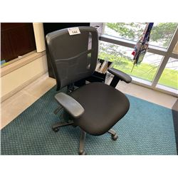 BLACK MESH BACK ERGONOMIC TASK CHAIR