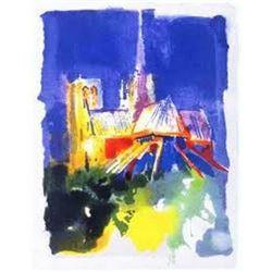 "Leroy Neiman ""Notre Dame"""