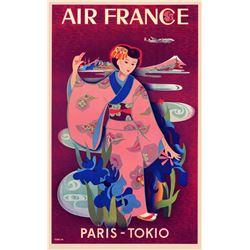 Taruchi - Air France Paris  -Tokyo