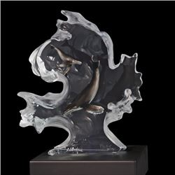 "Kitty Cantrell, ""Mother Nature"" Limited Edition Mixed Media Lucite Sculpture wit"