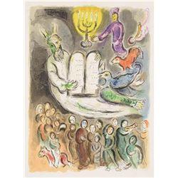 "Marc Chagall ""Exodus Tablet"""