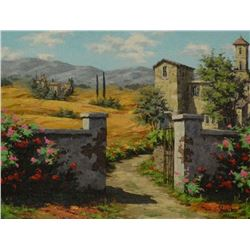 """Viktor Shvaiko """"Afternoon in Tuscany"""""""