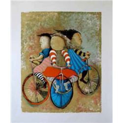"Graciela Boulanger ""Three Bicycles"""