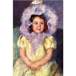 Mary Cassatt - Margo In White