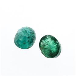 4.17 cts. Oval Cut Natural Emerald Parcel