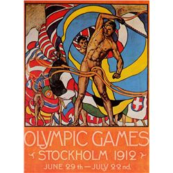 Olle Hjortzberg -  Stockholm Olympics 1912