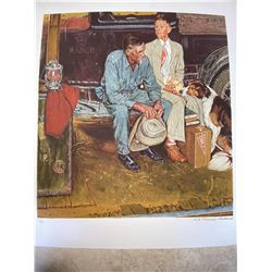 "Norman Rockwell ""Breaking Home Ties (Encore Edition)"""