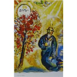 "Marc Chagall ""Exodus Moses & Burning Bush"""