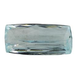 11.32 ct.Natural Cushion Cut Aquamarine