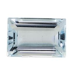 2.21 ct.Natural Rectangle Step Cut Aquamarine