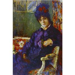 Mary Cassatt - Seated Woman