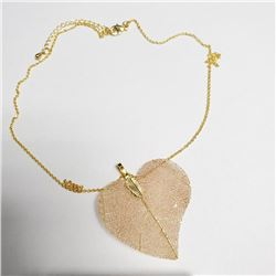 """Natural Leaf 18"""" Necklace, Suggested Retail Value $60"""