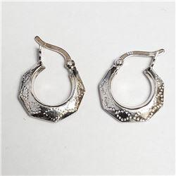 Hoop Earrings, Suggested Retail Value $80