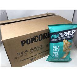 Case of Pop Corners Sea Salt (12 x 142g)