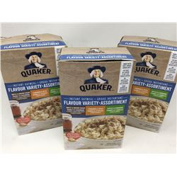 Quaker Instant Oatmeal Flavour Variety Pack (3 x 8)