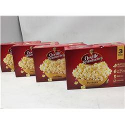Orville Redenbacher Microwave Buttery Popcorn (4 x 3)
