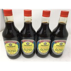 Kikkoman Soy Sauce (4 x 591ml)