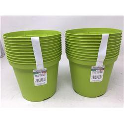 TeraPlast Plant Pots-Green (20ct)
